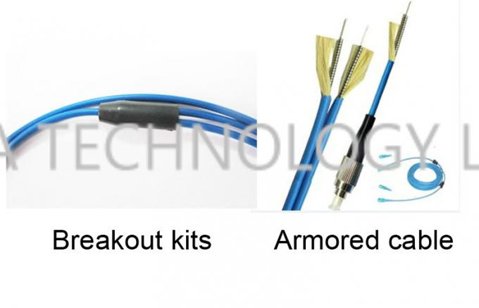 Armored Fiber Patch Cord LC