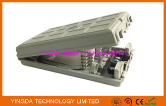 Çin Fiber To Home Network Fiber Optic Distribution Box Plastic 24 Fiber Optic Splice Box Fabrika