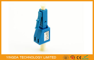 Çin Plastic Single - Mode Fiber Optic Attenuator For LAN & WAN / FTTP Network Fabrika