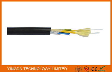 Çin Outdoor CATV Base Station Patch Cord FTTH Drop Cable 7.0mm PE Sheath Tight Buffered Cable Fabrika