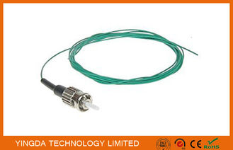 Fiber Optic Pigtail Jumper ST Mulitmode SX 0.9mm Aqua OM3 10 Gigabit Optical Cable