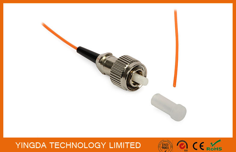 Fiber Optic Pigtail FC PC Mulitmode OM2 50/125 Simplex Orange 900um LSZH G655 Tedarikçi