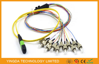 Çin MTP MPO Trunk Cable Distribütör